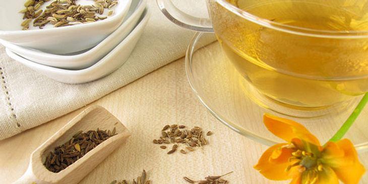 Anis-Tee gegen Bauchschmerzen