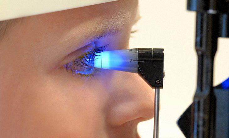 Augeninnendruckmessung