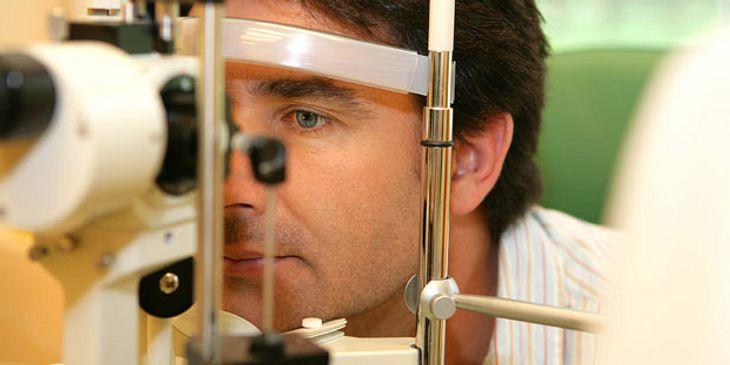 Augeninnendruckmessung bei Grünen Star