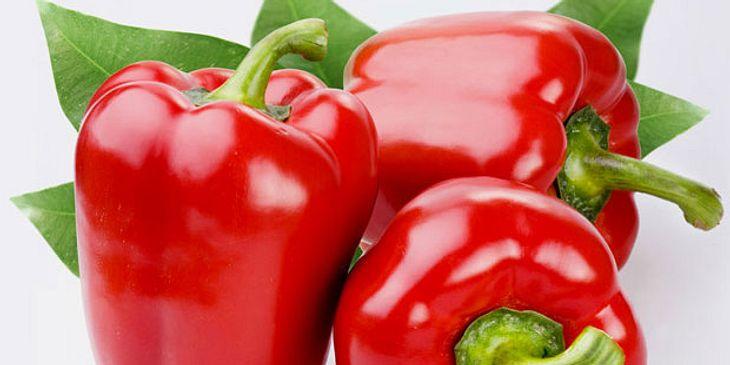 Rote Paprika hilft gegen Blutarmut