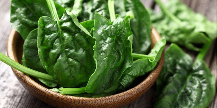Spinat hilft gegen Blutarmut