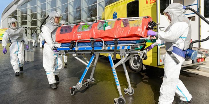 Ebola Schutzanzug