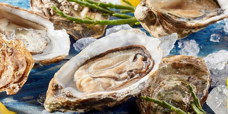 Eisenhaltige Lebensmittel: Austern