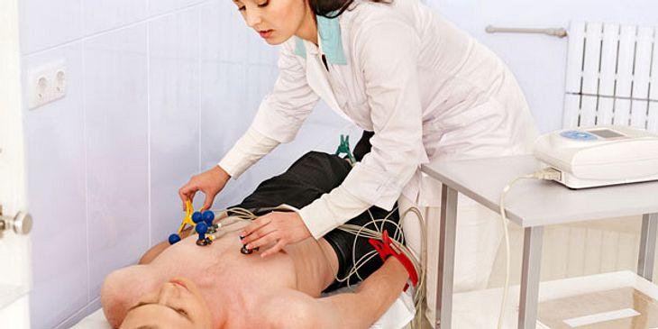 Elektrokardiografie (EKG) Diagnose bei Vorhofflimmern