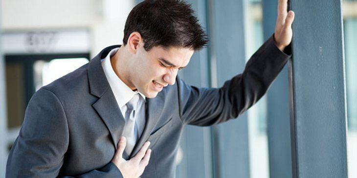 Herzinfarkt beim Mann