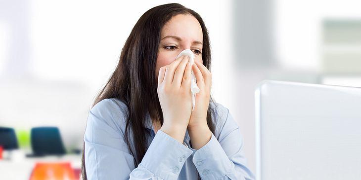 Erkältet im Job