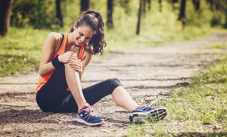 Gliederschmerzen nach Sportverletzung
