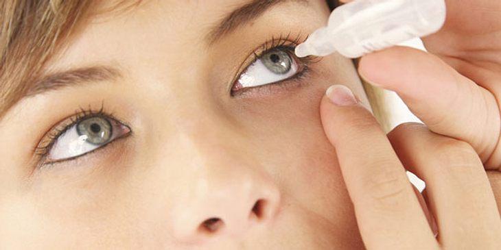 Augentropfen gegen trockene Augen