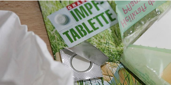 Gräser-Impftablette