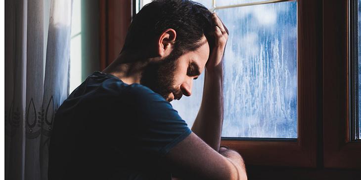 Junger Mann mit frontotemporaler Demenz
