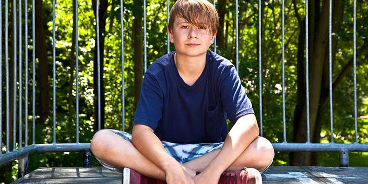 Kinder fangen mit Pubertätsbeginn an, anders zu schwitzen