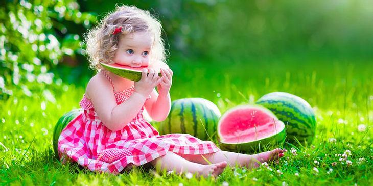 Melone im Sommer