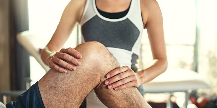 Physiotherapie bei Knieschmerzen
