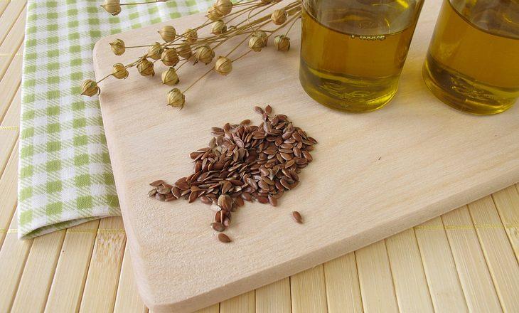 Leinöl enthält besonders viele Omega-3-Fettsäuren