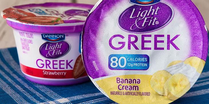 Diät-Lebensmittel Light-Joghurt