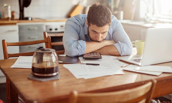 Magenschmerzen durch Stress