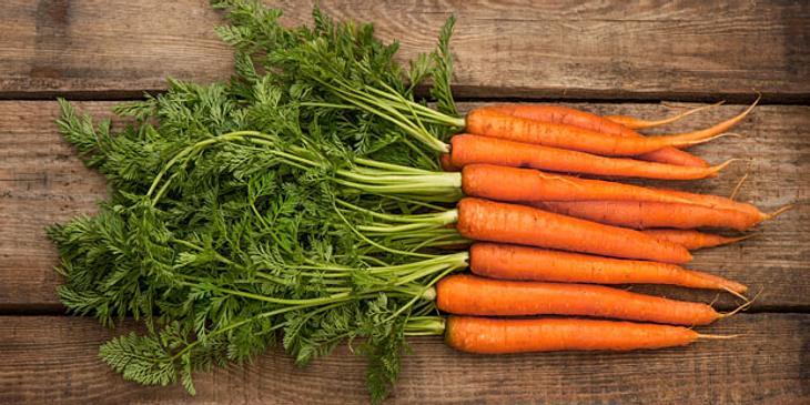 Karotten senken Cholesterinspiegel
