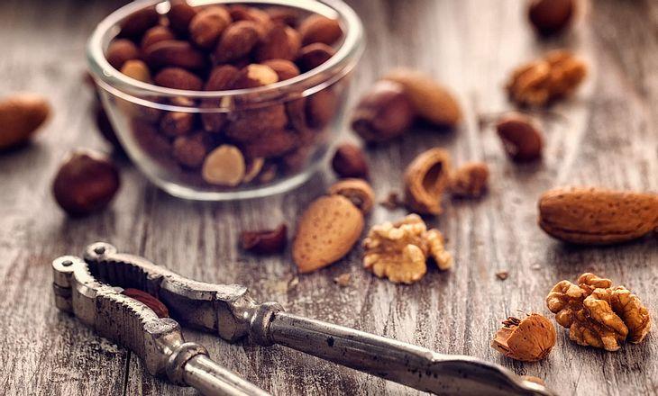 Magnesium-Lebensmittel Nüsse