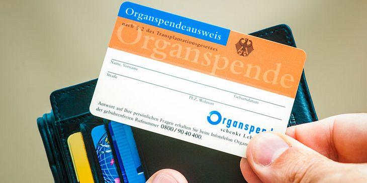 Womöglich bald ein Relikt der Vergangenheit: der Organspendeausweis