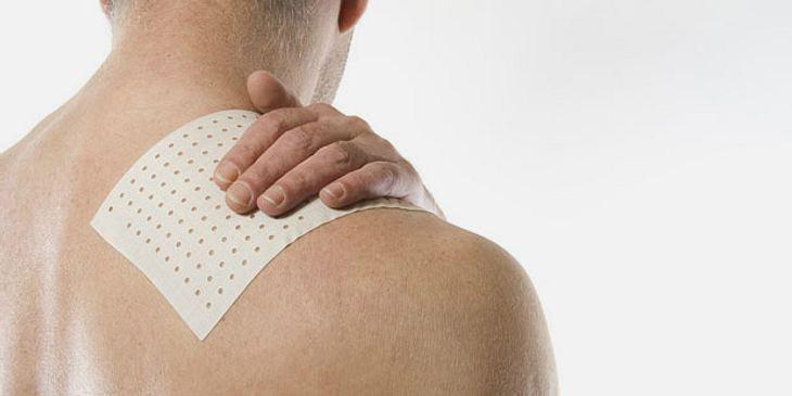 Pflaster gegen Rückenschmerzen