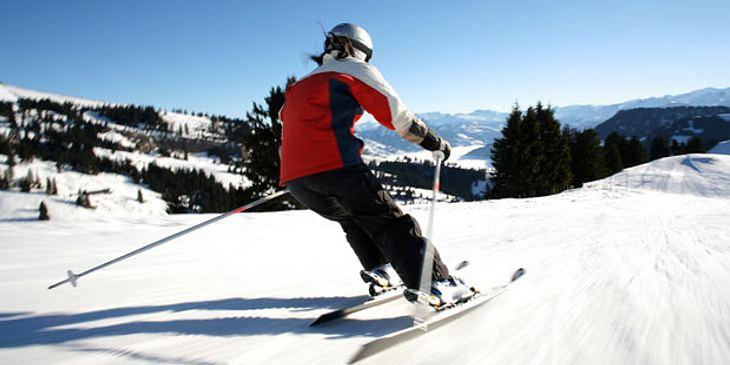 Krampfsituation Skifahren
