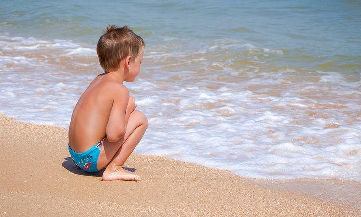 Sonnenbrand bei Kindern