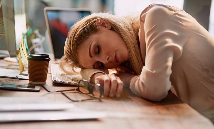 Frau ist ständig müde