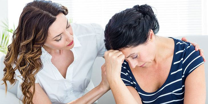 Therapeutin und Patientin
