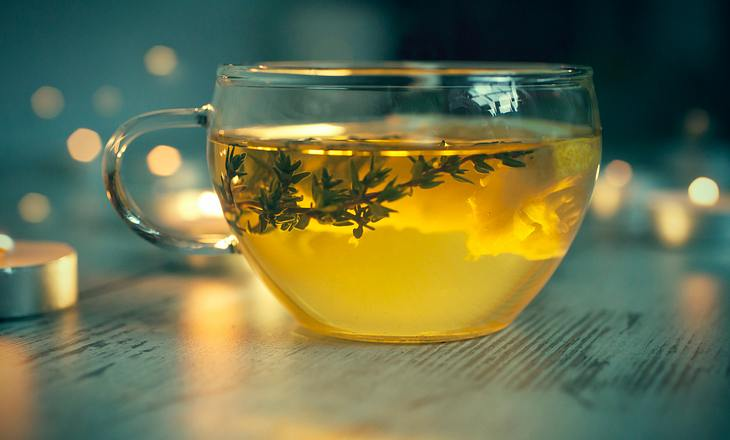 Thymian-Tee gegen Heiserkeit