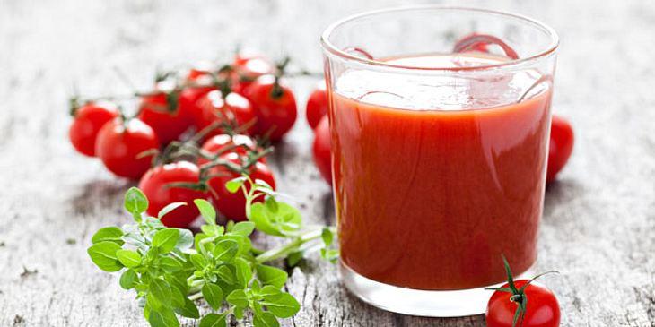 Tomatensaft bietet UV-Schutz