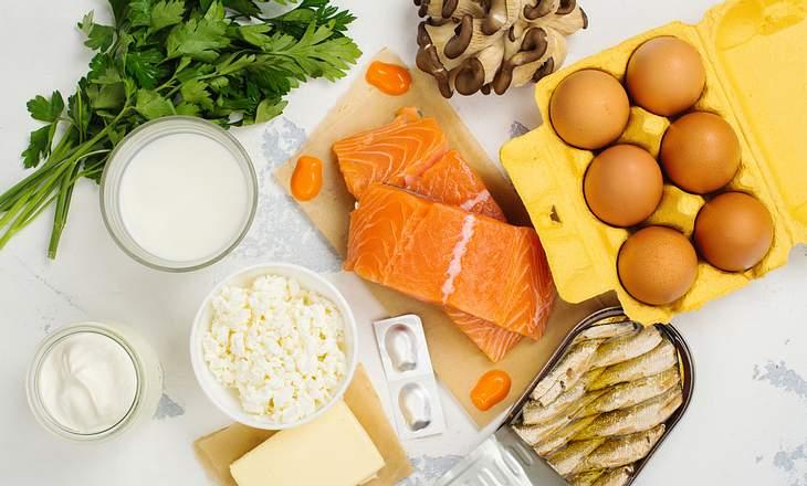 Vitamin D Lebensmittel